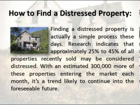 Secrets to Buying Distressed Properties