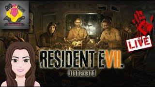 🔥Resident Evil 7 LIVE STREAM | Resident Evil 2 REMAKE HYPE!! Back to the MANSION 🔥 TheGebs24