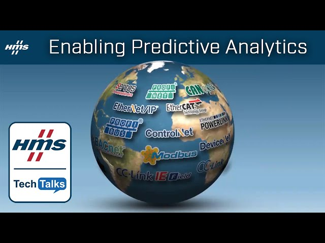 HMS TechTalk: Enabling Predictive Analytics in the Connected Warehouse