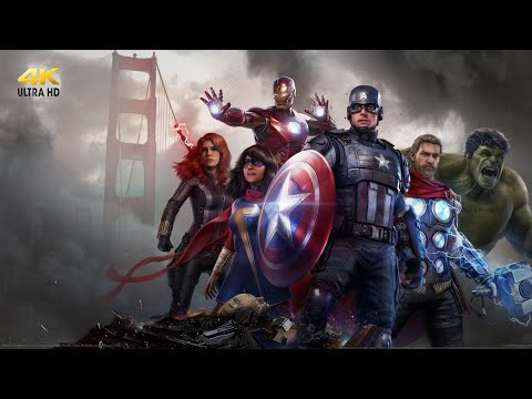 Breathtaking Avengers Gameplay of Every Character | New Trailer War Table