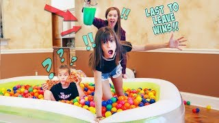 LAST TO LEAVE THE BALL PIT WINS $11,000!!