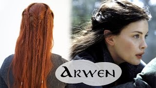 Lord of the Rings Hair Tutorial - Arwen Flight to the Ford