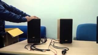 Review - Đập hộp bộ loa HIFI Goldsound GS3 160W - Dàn âm thanh gia đình