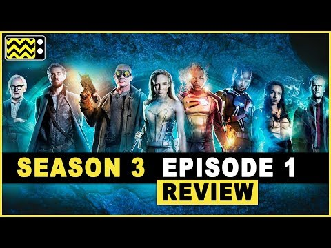 Legends of Tomorrow Season 3 Episode 1 Review w/ all the Writers | AfterBuzz TV