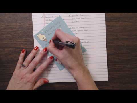 ASMR Request ~ Gum Chewing Whisper & Writing Invitations