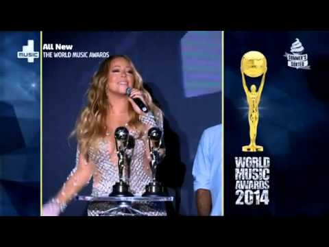 Mariah Carey Wins Pop Icon Award   The World Music Awards 2014   YouTube