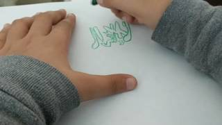 🇸🇦 Drawing Saudi Arabia Flag 🇸🇦