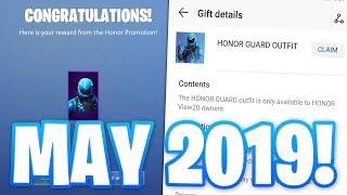 HONOR GUARD SKIN IN FORTNITE SEASON 9 FINALLY BACK! (May 2019)