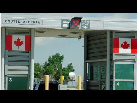 20150612; Travel Day 5, Malmstrom, MT To Calgary, Alberta, Canada
