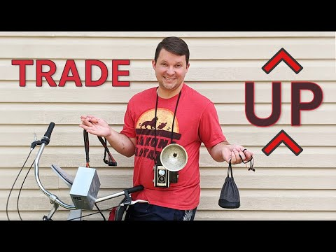 "I'm playing the ""Trade Up Game"" (aka ""bigger and better"") - Want to trade?"