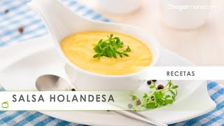 Salsa holandesa - Karlos Arguiñano