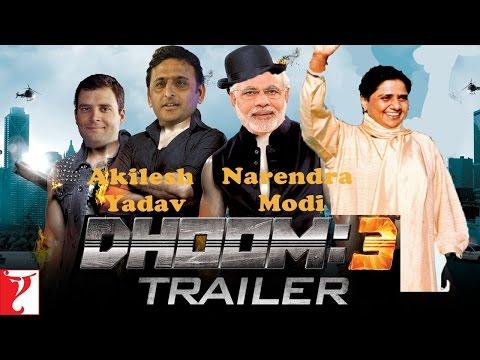 Akhilesh Yadav and Narendra Modi | UP Elections | Dhoom 3 Trailer