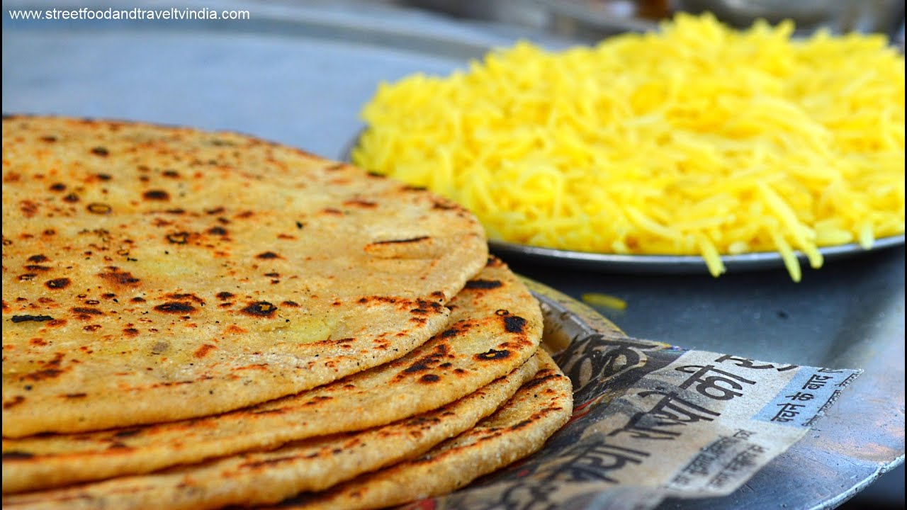 Aloo paratha indian street food haridwar uttarakhand indian food aloo paratha indian street food haridwar uttarakhand indian food cooking video 5 youtube forumfinder Gallery