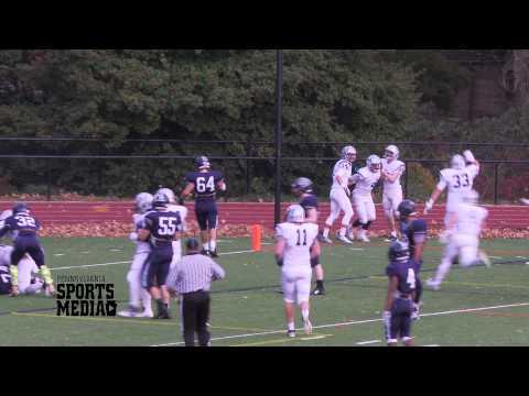 Malvern Prep Football vs Chestnut Hill Academy  11-8-14 INT/TD