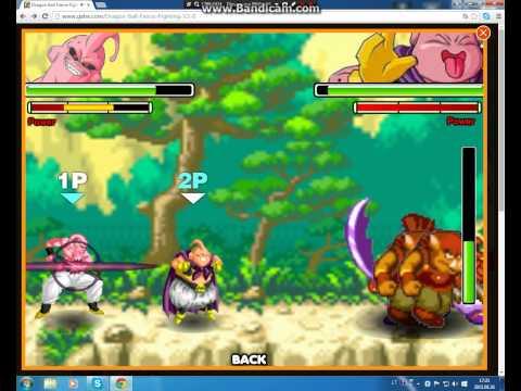 dragon ball z fierce fighting part 1