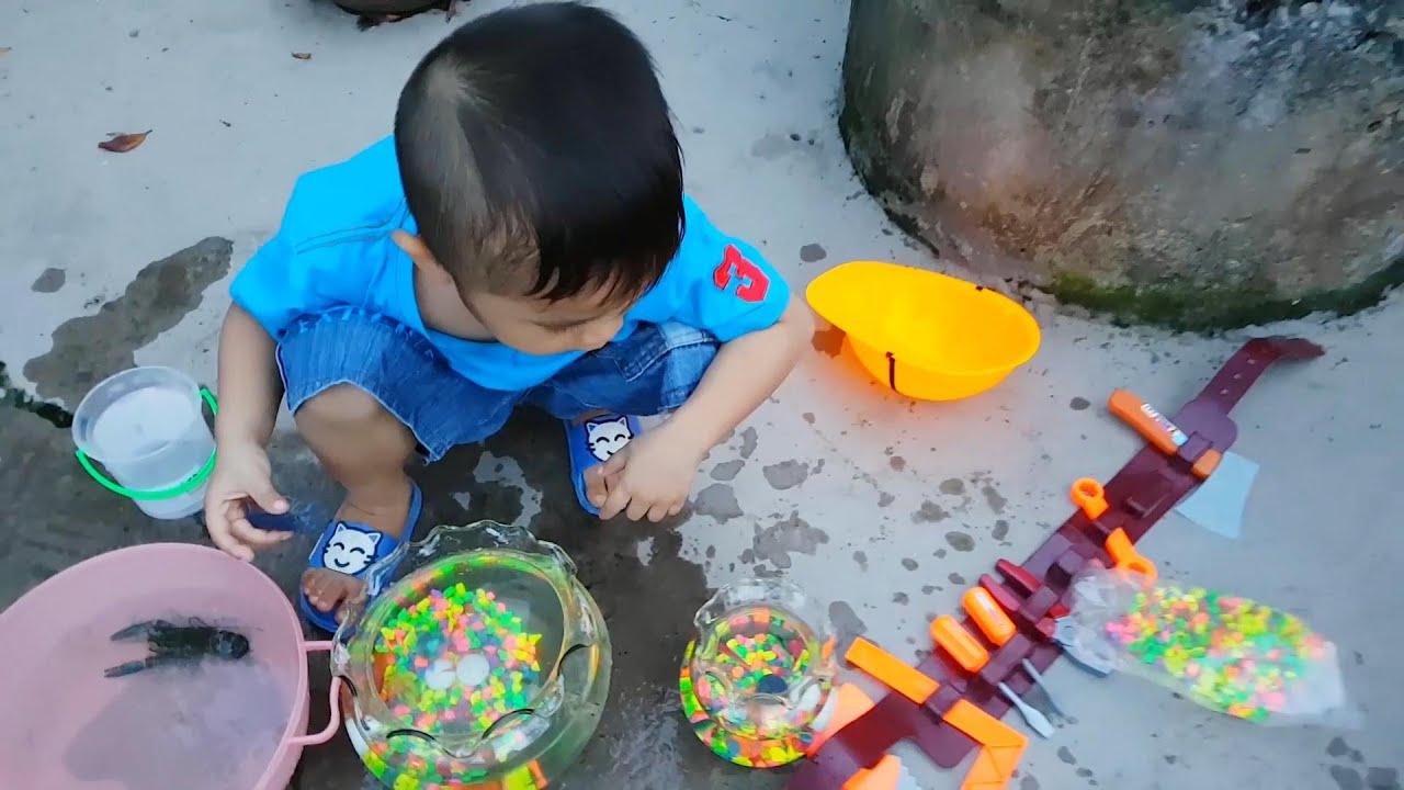 Trò Chơi Đồ Chơi Nhà Nuôi Tôm Cá ❤ ChiChi ToysReview TV ❤ Bạn Ken Vui Nhộn