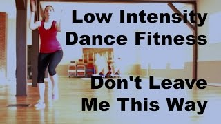 Low Intensity Dance Fitness Warmup Don