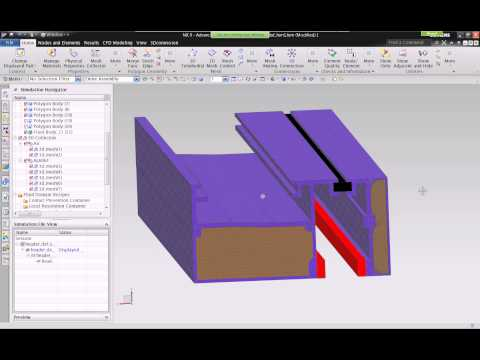 Webinar: NX Thermal Flow for Building Enclosures Part 2