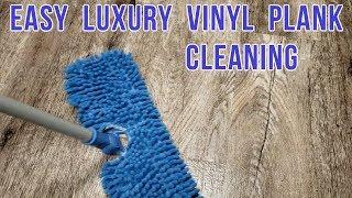 HOW TO CLEAN LUXURY VINYL PLANK FLOORING - FAST & EASY