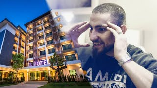 Ansage an Hotel