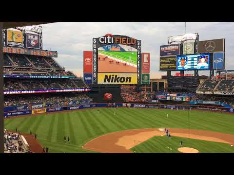 Reaction at Citi Field to Justify winning Triple Crown
