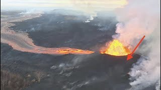 Is the Mt Kilauea eruption forming a NEW crater? - Mount ?