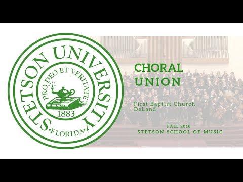 Choral Union Concert