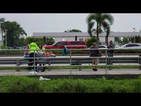 Bad car accident in Naples Florida at 41 and whistlers Cove
