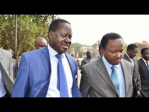 How Kalonzo Musyoka turned against Raila Odinga hours before swearing-in