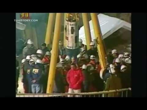 Ver Los 33 mineros chilenos de San José atrapados History Channel en Español