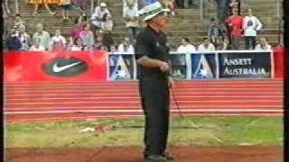 1997 Australian Grand Prix Series Melbourne Men Shot put