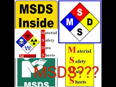 MSDS I Material Safety Data Sheet I What Is MSDS IMSDS 1 To 16 Point Explained I Chemical Handling