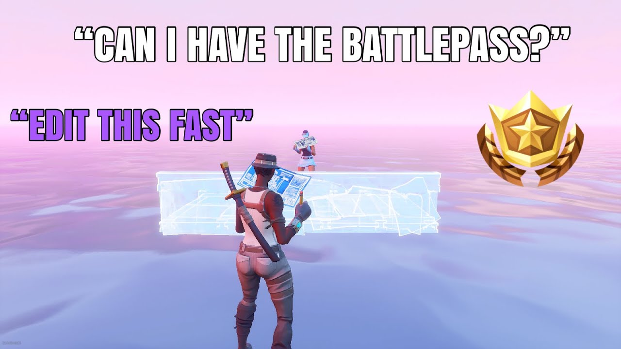 Edit Faster Than Me to Win the BATTLEPASS…
