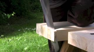 How to build a workbench - (Part 3) Cross cutting the top - with Paul Sellers