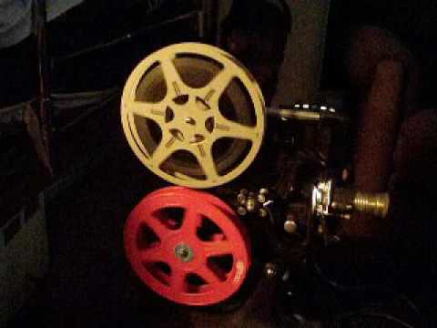 16mm film antique DeVry 9032 camera and Keystone A72 movie projector