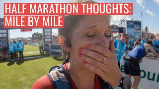 Thoughts Of A HALF Marathon Runner Mile by Mile | Great North Run 2019