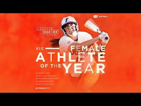 Lauren Haeger - 2015 SEC Female Athlete of the Year