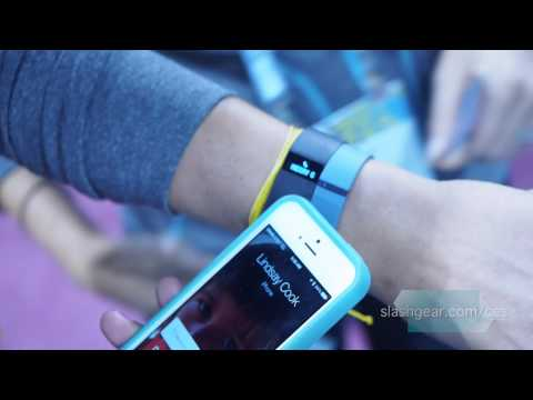 Fitbit Force caller ID demo