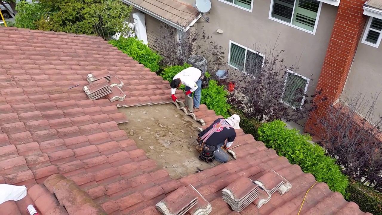 How To Find A Roof Leak Under A Tile Roof   Part 2   Laguna Niguel Roof Leak  Repair