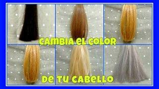 """¿Quieres cambiar el color del cabello? """"Prueba del mechón"""""""