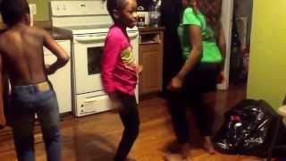 african kids dancing to an african song