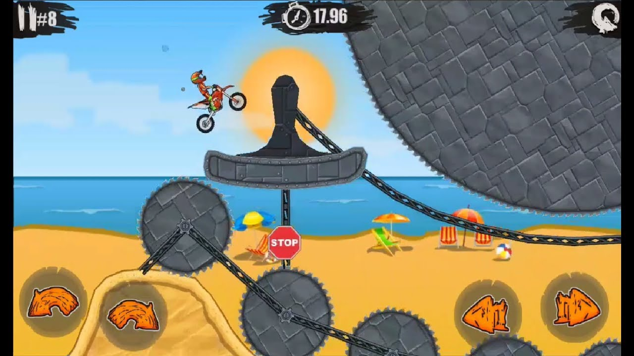 Moto X3m Bike Race Game Android Ios Gameplay Bike Race