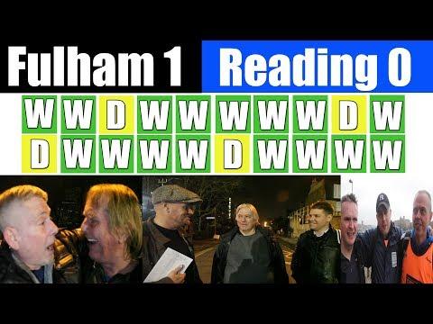 Fulham 1 Reading 0 | Twenty Unbeaten | Fulham Football Club