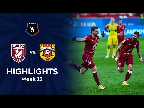 Rubin Kazan Arsenal Tula Goals And Highlights