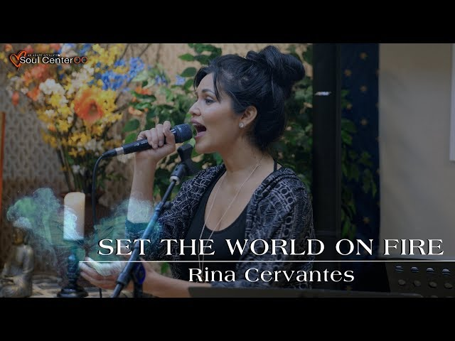 SET THE WORLD ON FIRE - RINA CERVANTES  |  BRITT NICOLE COVER