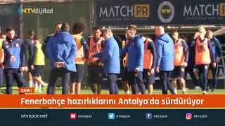 Fenerbahçe'de ikinci yarı hazırlıkları devam ediyor