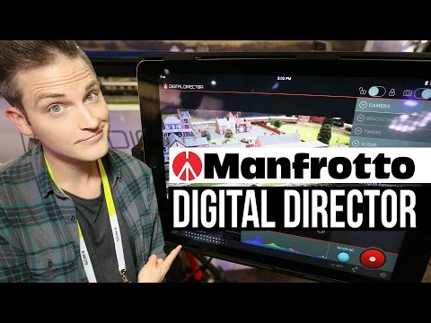 One Man Video Production? The Manfrotto Digital Director Creates Easy DSLR Workflow Management