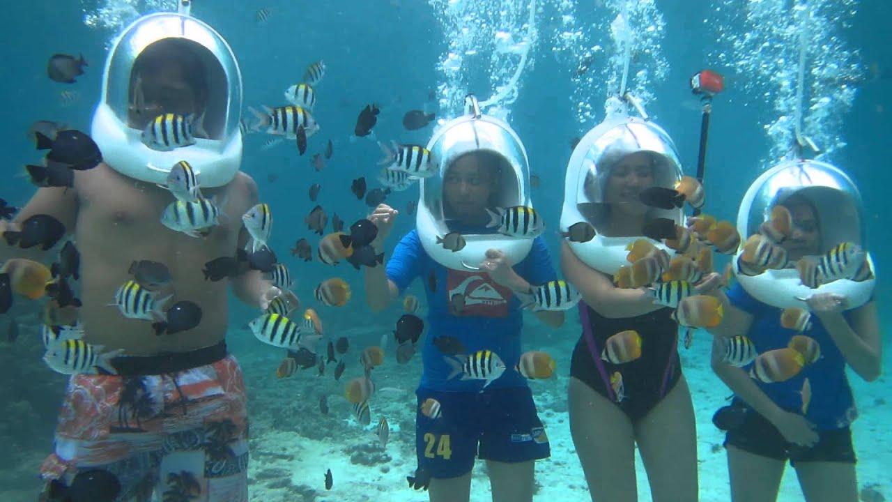 Helmet Diving Boracay 2015