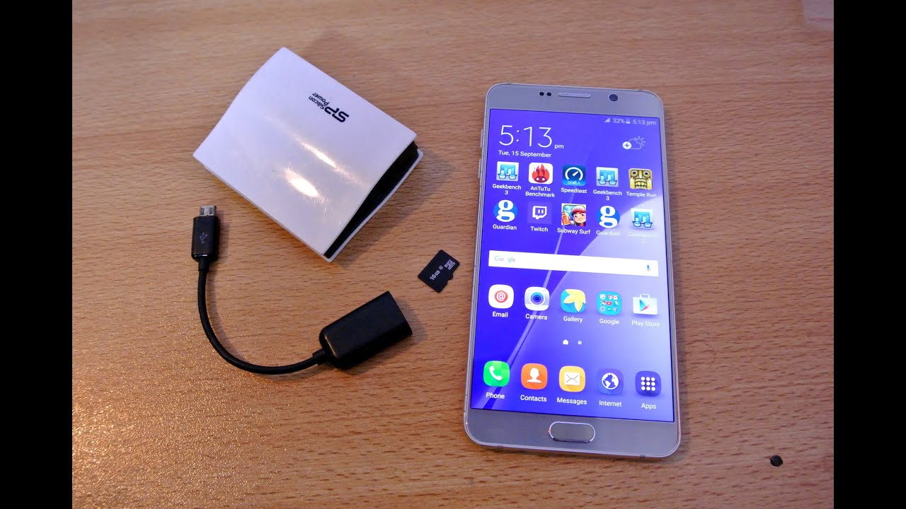 Samsung Galaxy Note 5 How To Use Micro Sd Card External Storage You