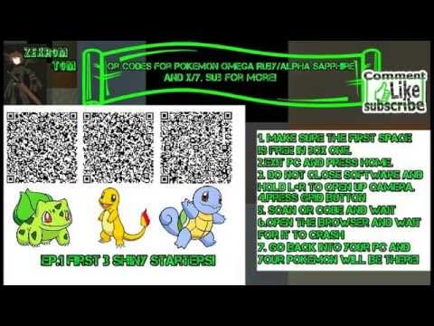 No Longer Works Shiny Qr Codes Shiny Bulbasaur Charmander And